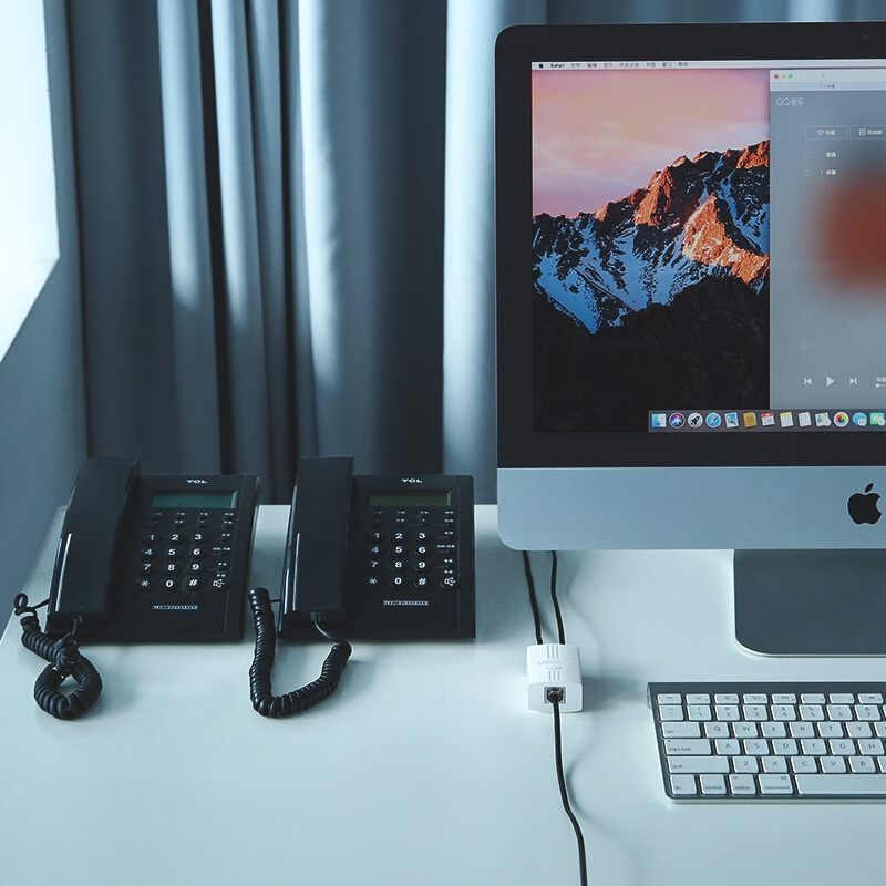 绿联20351 白色USB3.0  1口集线器