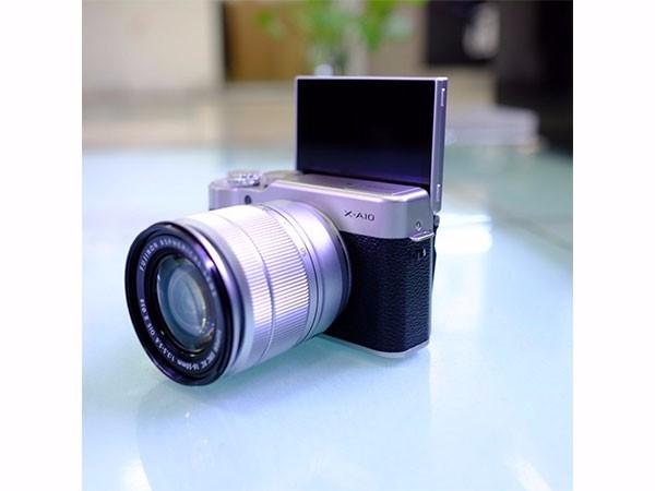 富士 X-A10(XC 16-50ll)微单/照相机 XA10 小巧轻便 时尚复古