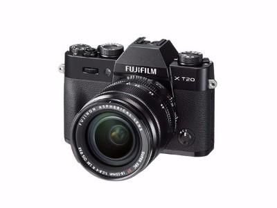 富士 X-T20 XC16-50ll 微单/照相机 银色2430万像素X T20翻折触摸屏4K