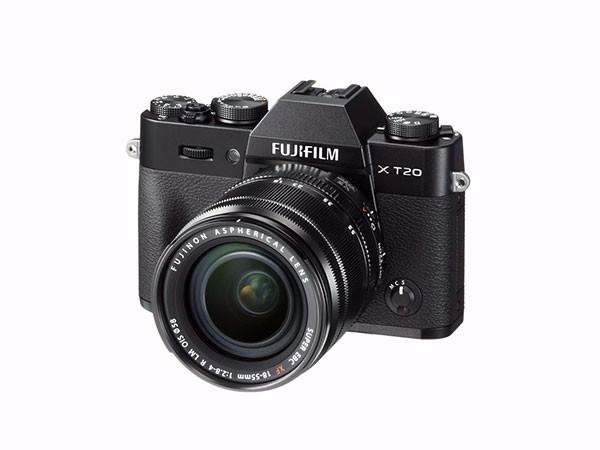富士 X-T20 XC16-50ll 微单/照相机 银色 2430万像素 X T20 翻折触摸屏 4K