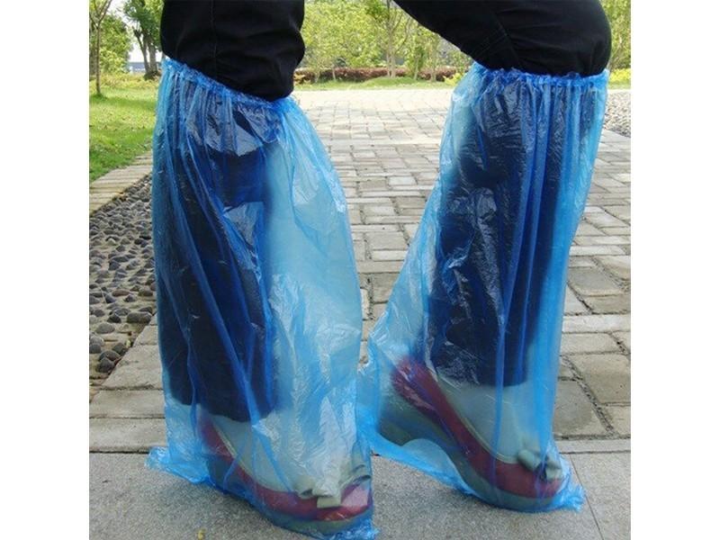 国产一次性长筒鞋套