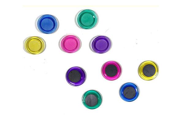 永益 黑板吸 教学白板磁粒 笑脸磁粒 冰箱贴 3012A彩色直径3CM