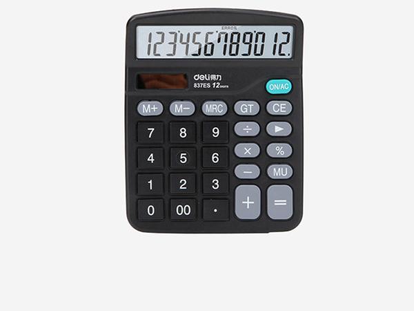 837ES得力计算器