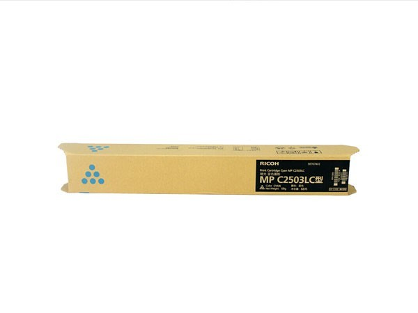 理光 MP C2503LC 青色 墨粉 适用:MP C2011SP/C2003SP/C2503SP