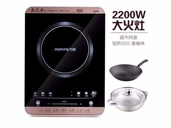 九阳(Joyoung)C22-L2D触控电磁炉大功率220W大火力电磁炉灶电火锅家用