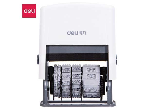 得力(deli) 77302 生产常用款文本+日期印章