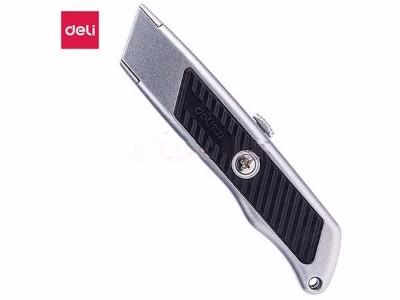 得力(deli) 银色2101 锌合金T型刀片美工刀 装修工具刀
