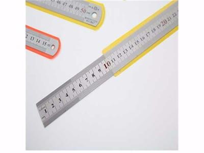 曙光测量用品 绘图钢直尺钢尺直尺 20CM钢直尺 不锈钢材