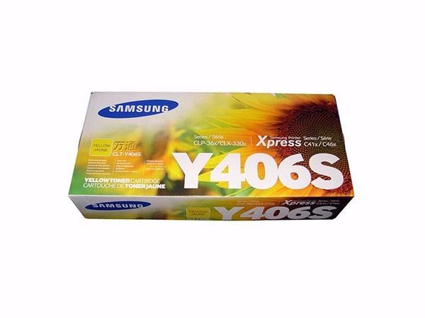 三星 CLT-Y406S 黄色墨粉盒