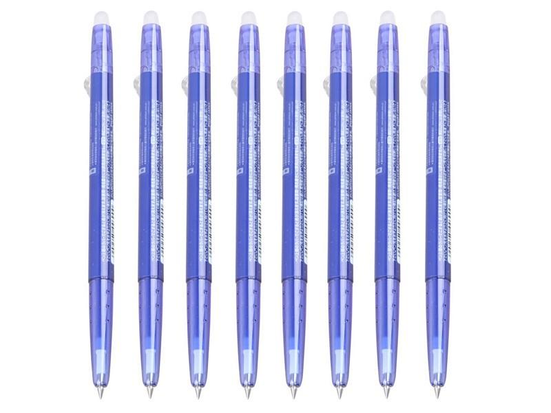 百乐LFBS-18UF按动可擦笔0.38(10/盒)蓝色