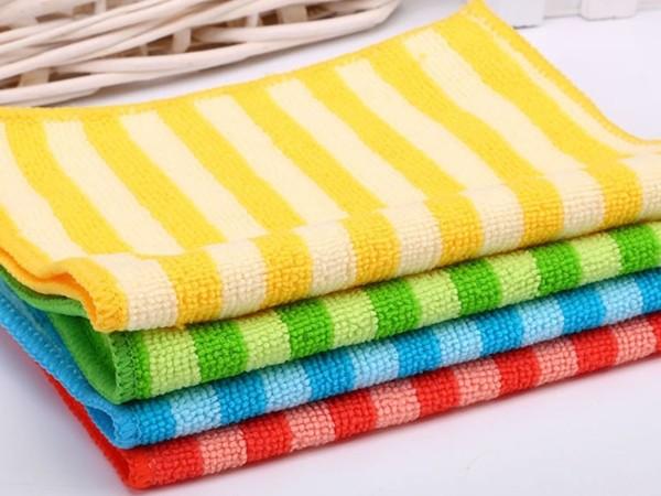 洁丽雅6658  18*27cm超细纤维毛巾