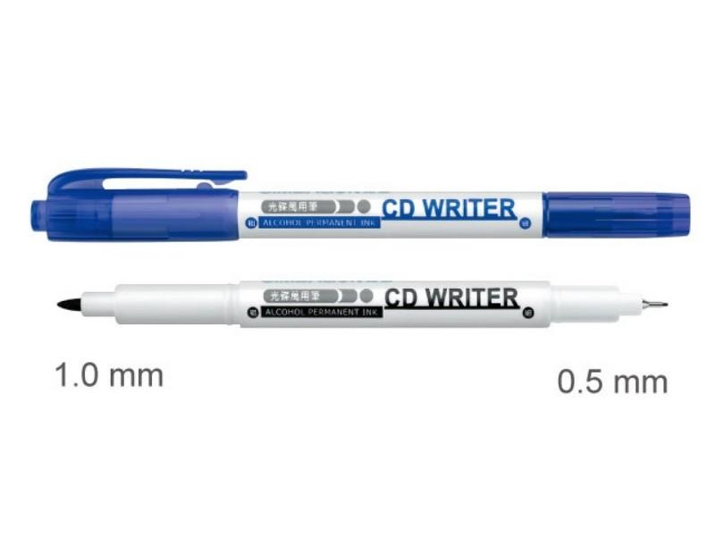 雄狮CD30  双头光盘万用笔(蓝)
