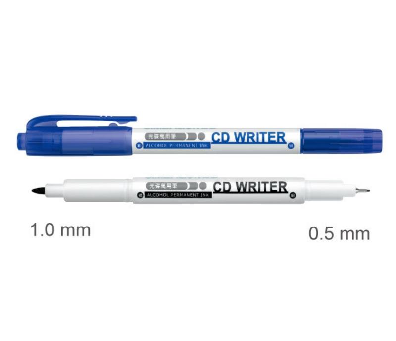 雄狮CD30 双头光盘万用笔(蓝) 详情页
