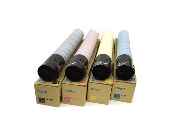 柯尼卡美能达 TN223 黑彩四色套装 粉盒 低容 四只装