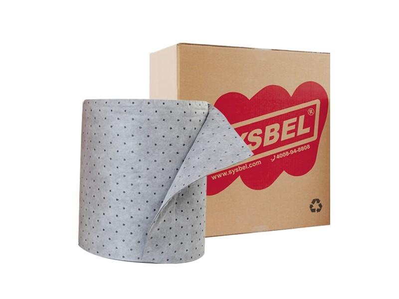 西斯贝尔SUR001  通用型吸附棉卷(轻型)
