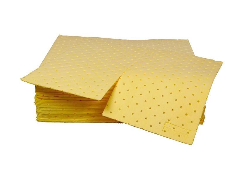 西斯贝尔CP0002Y  防化类吸附棉片 重型