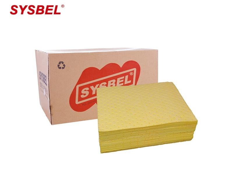 西斯贝尔CP0001Y  防化类吸附棉片(轻型)
