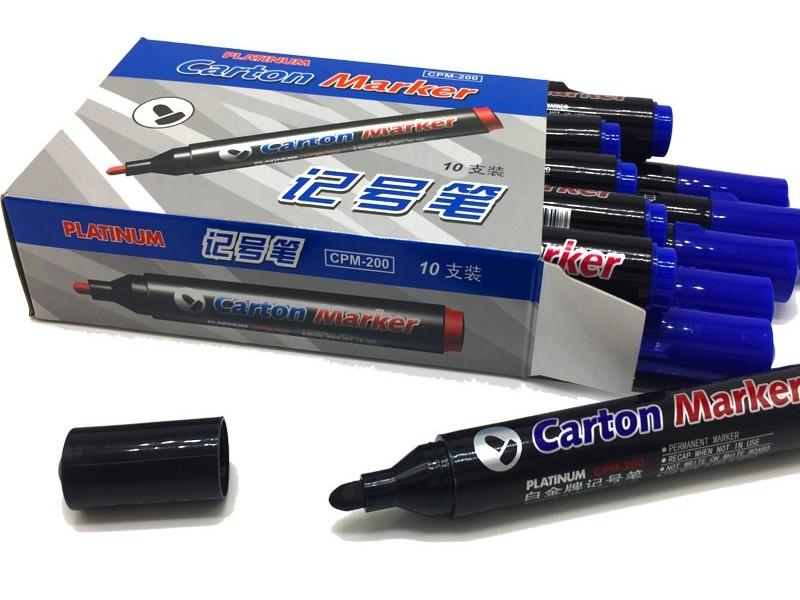 CPM-200白金记号笔 黑色