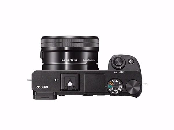 索尼(SONY)ILCE-6000L APS-C微单数码相机标准套装 黑色