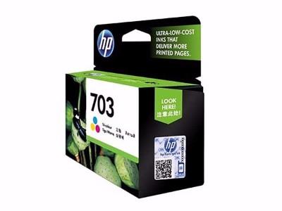 惠普 CD887AA 703号黑色墨盒
