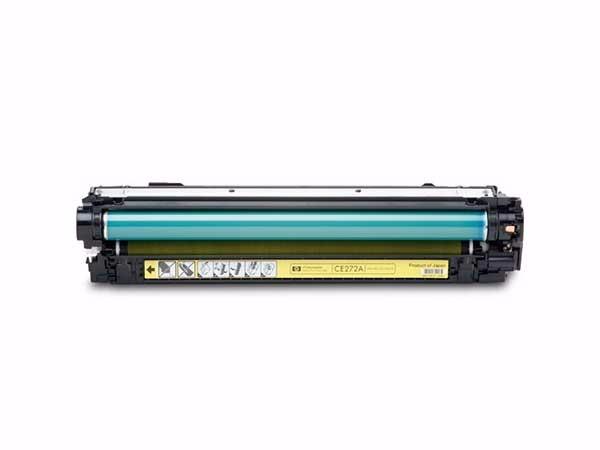 惠普 CE272A 650A原装硒鼓黄色 适用于LaserJet CP5520