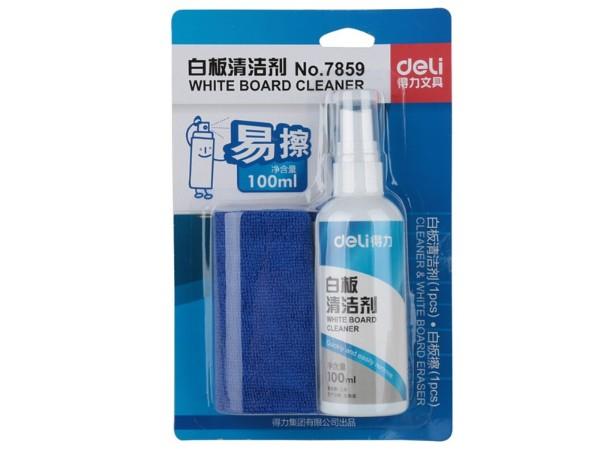 7859得力白板清洁剂