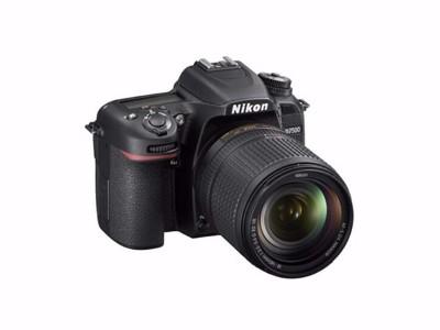 尼康 D7500 单反数码相机 套机 黑色
