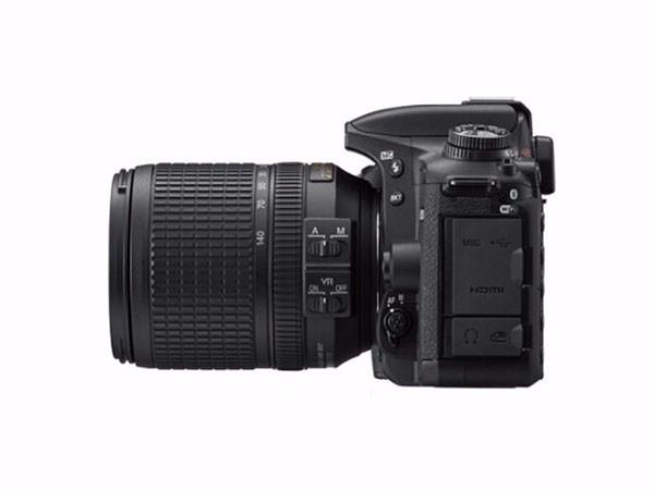 尼康 D7500 单反数码相机 套机(AF-S 18-140mmf3.5-5.6G ED VR 镜头)黑色