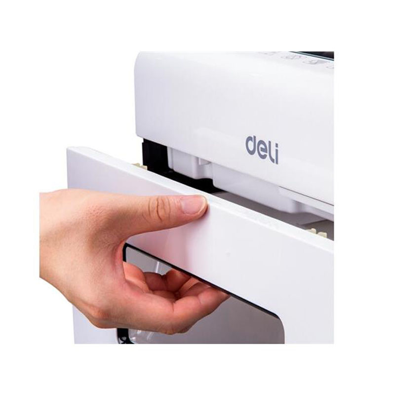 1得力 9921 平板系列办公碎纸机 德国四级保密