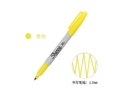 三福30005 经济型记号笔(黄色)