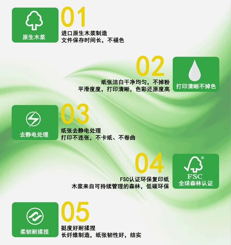 A3绿佳印复印纸