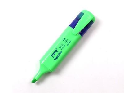 SP25东洋荧光笔 绿色