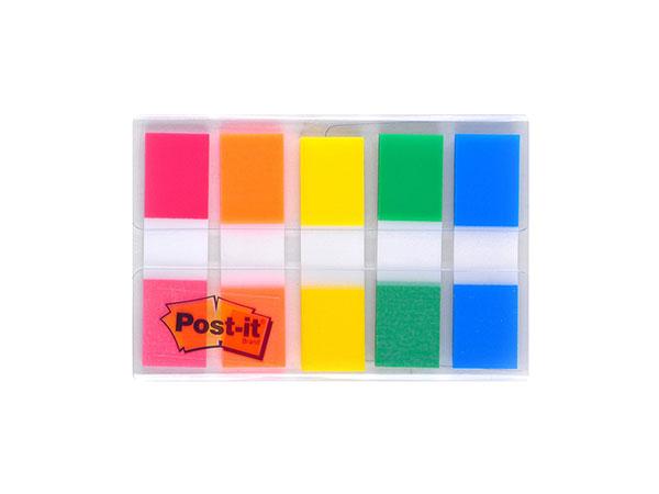 3M抽取式指示标签贴Post-it文件分类便签条彩色分页索引贴683-5CF