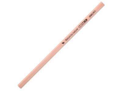 得力S907-2B书写铅笔(原木色)