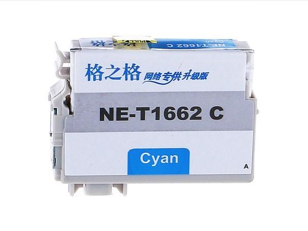 格之格 T166 墨盒 适用EPSON ME10/ME101打印机 NE-T1662C青色
