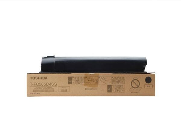 东芝 T-FC505C-K-S 原装彩色粉盒 黑色