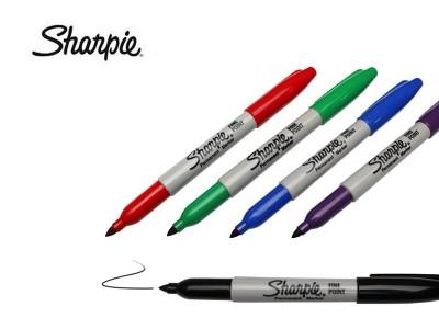 三福记号笔sharpie30001(黑色)